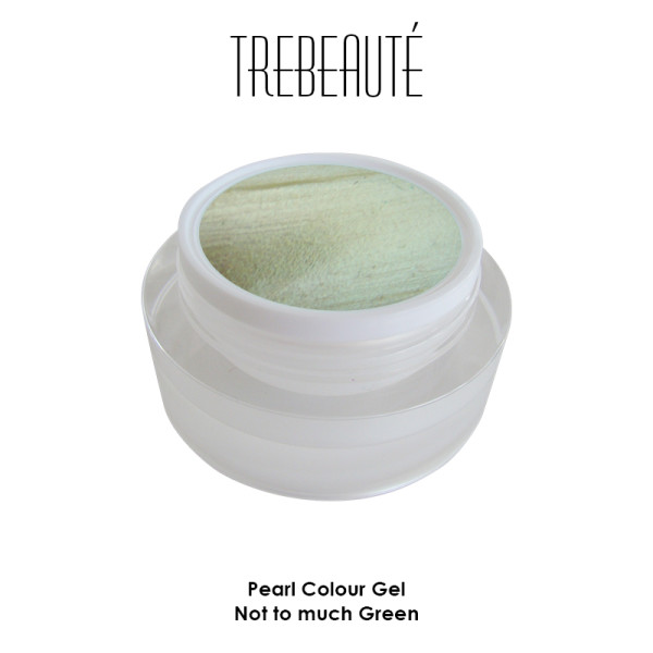 Colour Gel Pearl Not to much Green 5ml