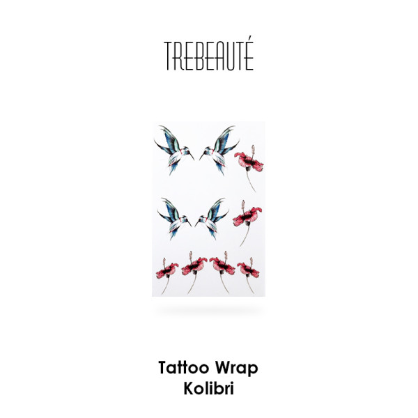 Tattoo Wrap - Kolibri
