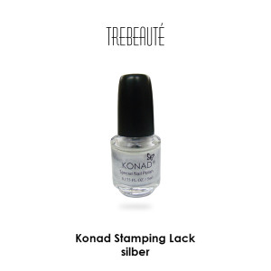 Konad Stamping Lack, Silver, 5ml